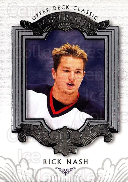 2003-04 UD Classic Portraits #25 Rick Nash<br/>6 In Stock - $1.00 each - <a href=https://centericecollectibles.foxycart.com/cart?name=2003-04%20UD%20Classic%20Portraits%20%2325%20Rick%20Nash...&quantity_max=6&price=$1.00&code=120068 class=foxycart> Buy it now! </a>