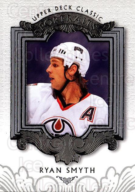 2003-04 UD Classic Portraits #35 Ryan Smyth<br/>6 In Stock - $1.00 each - <a href=https://centericecollectibles.foxycart.com/cart?name=2003-04%20UD%20Classic%20Portraits%20%2335%20Ryan%20Smyth...&quantity_max=6&price=$1.00&code=120078 class=foxycart> Buy it now! </a>