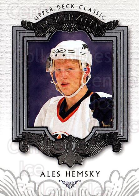 2003-04 UD Classic Portraits #37 Ales Hemsky<br/>5 In Stock - $1.00 each - <a href=https://centericecollectibles.foxycart.com/cart?name=2003-04%20UD%20Classic%20Portraits%20%2337%20Ales%20Hemsky...&quantity_max=5&price=$1.00&code=120080 class=foxycart> Buy it now! </a>