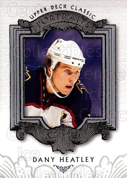 2003-04 UD Classic Portraits #4 Dany Heatley<br/>5 In Stock - $1.00 each - <a href=https://centericecollectibles.foxycart.com/cart?name=2003-04%20UD%20Classic%20Portraits%20%234%20Dany%20Heatley...&quantity_max=5&price=$1.00&code=120083 class=foxycart> Buy it now! </a>