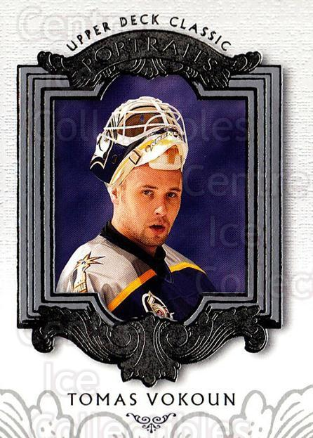 2003-04 UD Classic Portraits #55 Tomas Vokoun<br/>5 In Stock - $1.00 each - <a href=https://centericecollectibles.foxycart.com/cart?name=2003-04%20UD%20Classic%20Portraits%20%2355%20Tomas%20Vokoun...&quantity_max=5&price=$1.00&code=120097 class=foxycart> Buy it now! </a>