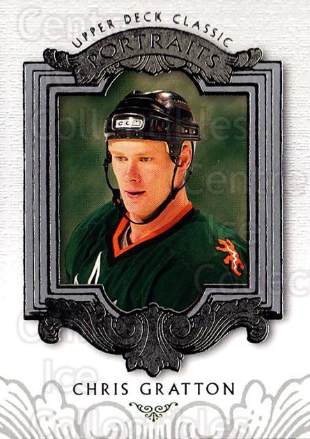 2003-04 UD Classic Portraits #75 Chris Gratton<br/>5 In Stock - $1.00 each - <a href=https://centericecollectibles.foxycart.com/cart?name=2003-04%20UD%20Classic%20Portraits%20%2375%20Chris%20Gratton...&quantity_max=5&price=$1.00&code=120119 class=foxycart> Buy it now! </a>