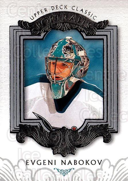 2003-04 UD Classic Portraits #82 Evgeni Nabokov<br/>5 In Stock - $1.00 each - <a href=https://centericecollectibles.foxycart.com/cart?name=2003-04%20UD%20Classic%20Portraits%20%2382%20Evgeni%20Nabokov...&quantity_max=5&price=$1.00&code=120127 class=foxycart> Buy it now! </a>