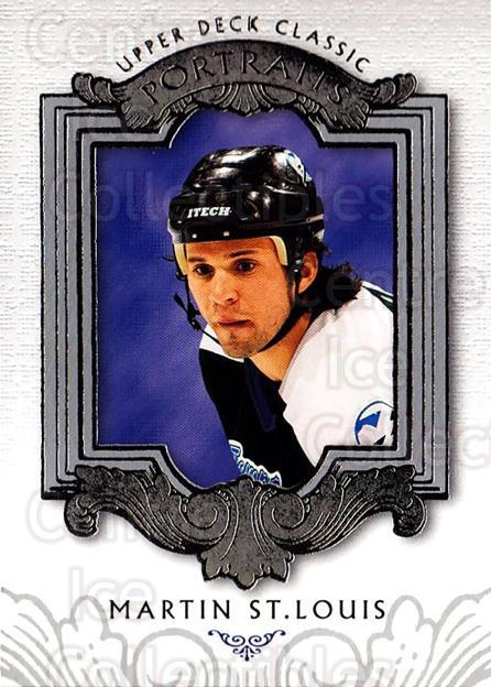 2003-04 UD Classic Portraits #88 Martin St. Louis<br/>3 In Stock - $1.00 each - <a href=https://centericecollectibles.foxycart.com/cart?name=2003-04%20UD%20Classic%20Portraits%20%2388%20Martin%20St.%20Loui...&quantity_max=3&price=$1.00&code=120133 class=foxycart> Buy it now! </a>