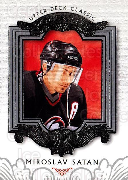 2003-04 UD Classic Portraits #9 Miroslav Satan<br/>4 In Stock - $1.00 each - <a href=https://centericecollectibles.foxycart.com/cart?name=2003-04%20UD%20Classic%20Portraits%20%239%20Miroslav%20Satan...&quantity_max=4&price=$1.00&code=120135 class=foxycart> Buy it now! </a>