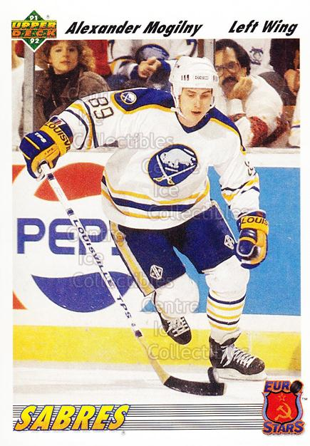 1991-92 Upper Deck Euro-Stars #2 Alexander Mogilny<br/>18 In Stock - $1.00 each - <a href=https://centericecollectibles.foxycart.com/cart?name=1991-92%20Upper%20Deck%20Euro-Stars%20%232%20Alexander%20Mogil...&quantity_max=18&price=$1.00&code=12038 class=foxycart> Buy it now! </a>