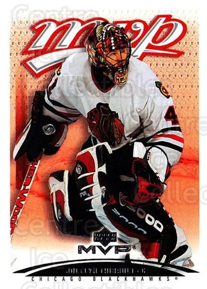 2003-04 Upper Deck MVP #100 Jocelyn Thibault<br/>2 In Stock - $1.00 each - <a href=https://centericecollectibles.foxycart.com/cart?name=2003-04%20Upper%20Deck%20MVP%20%23100%20Jocelyn%20Thibaul...&quantity_max=2&price=$1.00&code=120543 class=foxycart> Buy it now! </a>