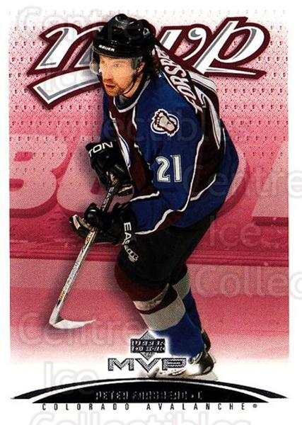 2003-04 Upper Deck MVP #101 Peter Forsberg<br/>1 In Stock - $1.00 each - <a href=https://centericecollectibles.foxycart.com/cart?name=2003-04%20Upper%20Deck%20MVP%20%23101%20Peter%20Forsberg...&quantity_max=1&price=$1.00&code=120544 class=foxycart> Buy it now! </a>