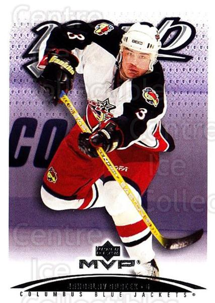 2003-04 Upper Deck MVP #118 Jaroslav Spacek<br/>2 In Stock - $1.00 each - <a href=https://centericecollectibles.foxycart.com/cart?name=2003-04%20Upper%20Deck%20MVP%20%23118%20Jaroslav%20Spacek...&quantity_max=2&price=$1.00&code=120562 class=foxycart> Buy it now! </a>