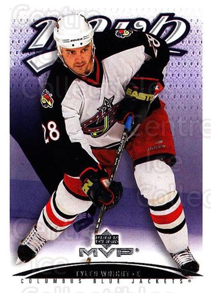 2003-04 Upper Deck MVP #121 Tyler Wright<br/>4 In Stock - $1.00 each - <a href=https://centericecollectibles.foxycart.com/cart?name=2003-04%20Upper%20Deck%20MVP%20%23121%20Tyler%20Wright...&quantity_max=4&price=$1.00&code=120566 class=foxycart> Buy it now! </a>