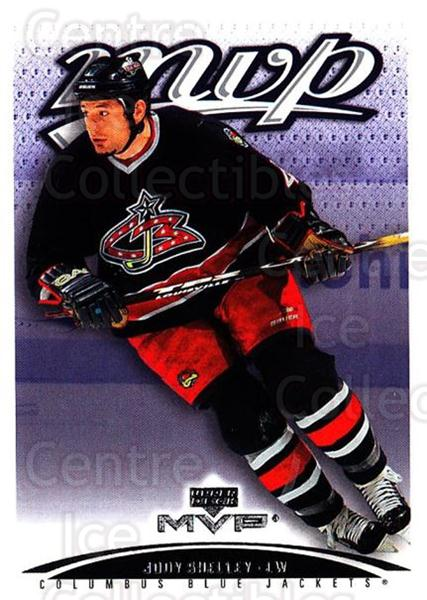 2003-04 Upper Deck MVP #124 Jody Shelley<br/>4 In Stock - $1.00 each - <a href=https://centericecollectibles.foxycart.com/cart?name=2003-04%20Upper%20Deck%20MVP%20%23124%20Jody%20Shelley...&quantity_max=4&price=$1.00&code=120569 class=foxycart> Buy it now! </a>