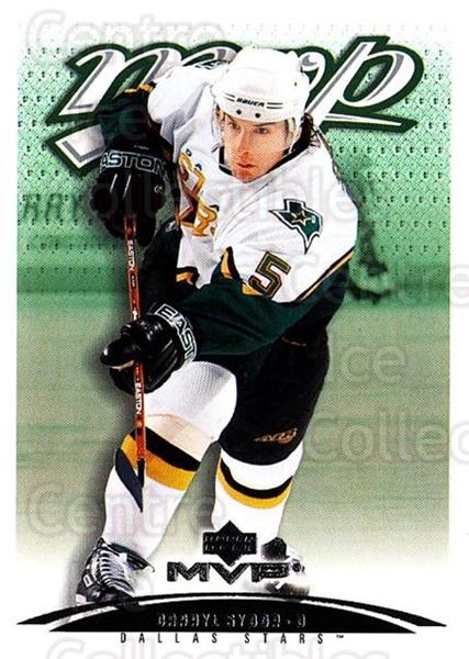 2003-04 Upper Deck MVP #134 Darryl Sydor<br/>4 In Stock - $1.00 each - <a href=https://centericecollectibles.foxycart.com/cart?name=2003-04%20Upper%20Deck%20MVP%20%23134%20Darryl%20Sydor...&quantity_max=4&price=$1.00&code=120580 class=foxycart> Buy it now! </a>