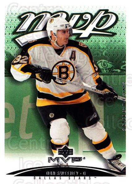 2003-04 Upper Deck MVP #136 Don Sweeney<br/>1 In Stock - $1.00 each - <a href=https://centericecollectibles.foxycart.com/cart?name=2003-04%20Upper%20Deck%20MVP%20%23136%20Don%20Sweeney...&quantity_max=1&price=$1.00&code=120582 class=foxycart> Buy it now! </a>