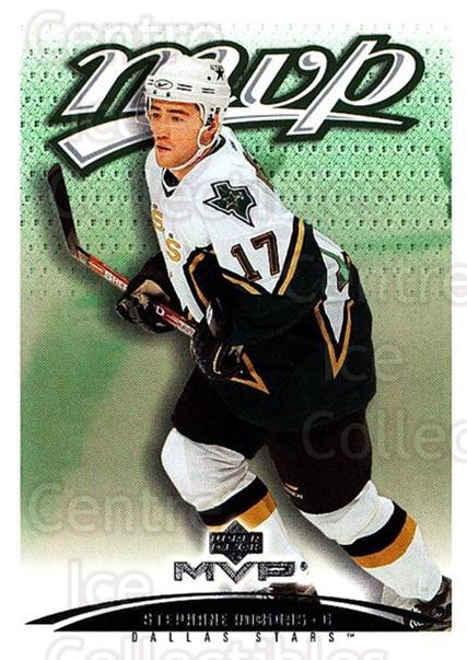 2003-04 Upper Deck MVP #140 Stephane Robidas<br/>2 In Stock - $1.00 each - <a href=https://centericecollectibles.foxycart.com/cart?name=2003-04%20Upper%20Deck%20MVP%20%23140%20Stephane%20Robida...&quantity_max=2&price=$1.00&code=120587 class=foxycart> Buy it now! </a>