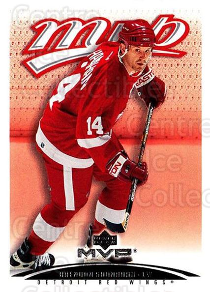 2003-04 Upper Deck MVP #144 Brendan Shanahan<br/>3 In Stock - $1.00 each - <a href=https://centericecollectibles.foxycart.com/cart?name=2003-04%20Upper%20Deck%20MVP%20%23144%20Brendan%20Shanaha...&quantity_max=3&price=$1.00&code=120589 class=foxycart> Buy it now! </a>