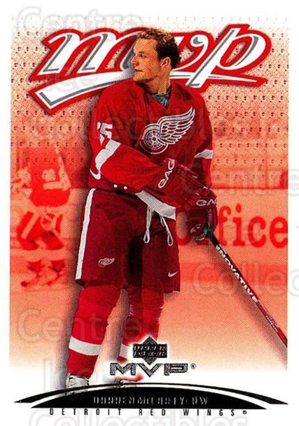 2003-04 Upper Deck MVP #152 Darren McCarty<br/>3 In Stock - $1.00 each - <a href=https://centericecollectibles.foxycart.com/cart?name=2003-04%20Upper%20Deck%20MVP%20%23152%20Darren%20McCarty...&quantity_max=3&price=$1.00&code=120595 class=foxycart> Buy it now! </a>