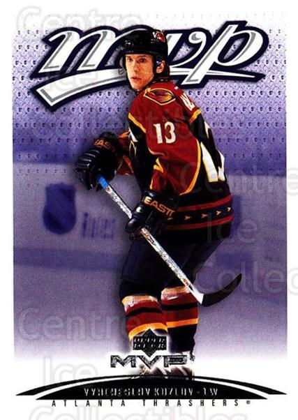 2003-04 Upper Deck MVP #16 Vyacheslav Kozlov<br/>4 In Stock - $1.00 each - <a href=https://centericecollectibles.foxycart.com/cart?name=2003-04%20Upper%20Deck%20MVP%20%2316%20Vyacheslav%20Kozl...&quantity_max=4&price=$1.00&code=120601 class=foxycart> Buy it now! </a>