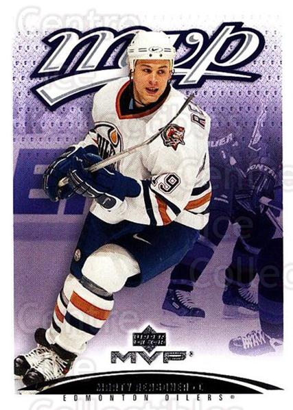 2003-04 Upper Deck MVP #161 Marty Reasoner<br/>2 In Stock - $1.00 each - <a href=https://centericecollectibles.foxycart.com/cart?name=2003-04%20Upper%20Deck%20MVP%20%23161%20Marty%20Reasoner...&quantity_max=2&price=$1.00&code=120603 class=foxycart> Buy it now! </a>