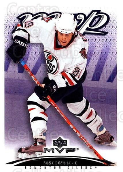 2003-04 Upper Deck MVP #163 Mike Comrie<br/>4 In Stock - $1.00 each - <a href=https://centericecollectibles.foxycart.com/cart?name=2003-04%20Upper%20Deck%20MVP%20%23163%20Mike%20Comrie...&quantity_max=4&price=$1.00&code=120605 class=foxycart> Buy it now! </a>