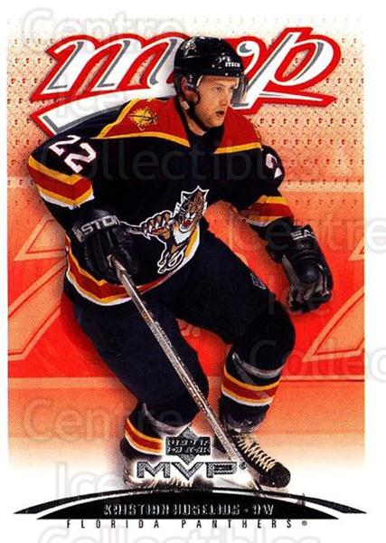 2003-04 Upper Deck MVP #179 Kristian Huselius<br/>3 In Stock - $1.00 each - <a href=https://centericecollectibles.foxycart.com/cart?name=2003-04%20Upper%20Deck%20MVP%20%23179%20Kristian%20Huseli...&quantity_max=3&price=$1.00&code=120621 class=foxycart> Buy it now! </a>