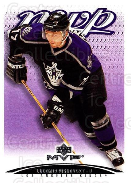 2003-04 Upper Deck MVP #195 Lubomir Visnovsky<br/>4 In Stock - $1.00 each - <a href=https://centericecollectibles.foxycart.com/cart?name=2003-04%20Upper%20Deck%20MVP%20%23195%20Lubomir%20Visnovs...&quantity_max=4&price=$1.00&code=120639 class=foxycart> Buy it now! </a>