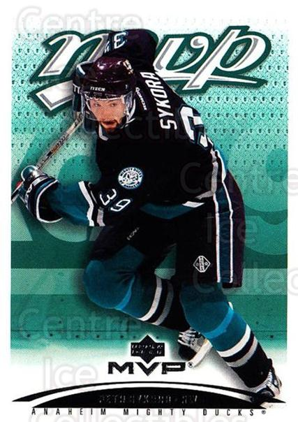 2003-04 Upper Deck MVP #2 Petr Sykora<br/>1 In Stock - $1.00 each - <a href=https://centericecollectibles.foxycart.com/cart?name=2003-04%20Upper%20Deck%20MVP%20%232%20Petr%20Sykora...&quantity_max=1&price=$1.00&code=120644 class=foxycart> Buy it now! </a>