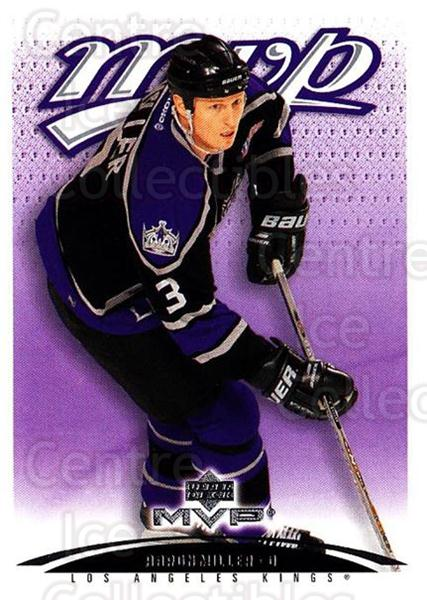 2003-04 Upper Deck MVP #201 Aaron Miller<br/>4 In Stock - $1.00 each - <a href=https://centericecollectibles.foxycart.com/cart?name=2003-04%20Upper%20Deck%20MVP%20%23201%20Aaron%20Miller...&quantity_max=4&price=$1.00&code=120646 class=foxycart> Buy it now! </a>