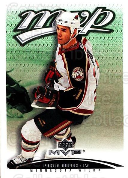 2003-04 Upper Deck MVP #208 Pascal Dupuis<br/>4 In Stock - $1.00 each - <a href=https://centericecollectibles.foxycart.com/cart?name=2003-04%20Upper%20Deck%20MVP%20%23208%20Pascal%20Dupuis...&quantity_max=4&price=$1.00&code=120652 class=foxycart> Buy it now! </a>