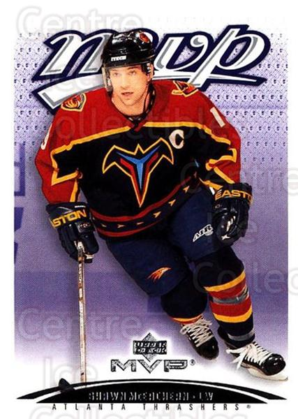 2003-04 Upper Deck MVP #21 Shawn McEachern<br/>3 In Stock - $1.00 each - <a href=https://centericecollectibles.foxycart.com/cart?name=2003-04%20Upper%20Deck%20MVP%20%2321%20Shawn%20McEachern...&quantity_max=3&price=$1.00&code=120654 class=foxycart> Buy it now! </a>