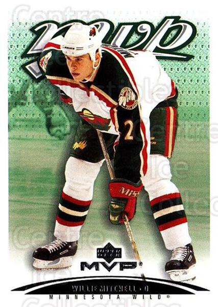 2003-04 Upper Deck MVP #215 Willie Mitchell<br/>4 In Stock - $1.00 each - <a href=https://centericecollectibles.foxycart.com/cart?name=2003-04%20Upper%20Deck%20MVP%20%23215%20Willie%20Mitchell...&quantity_max=4&price=$1.00&code=120660 class=foxycart> Buy it now! </a>