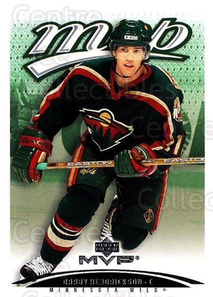 2003-04 Upper Deck MVP #217 Darby Hendrickson<br/>1 In Stock - $1.00 each - <a href=https://centericecollectibles.foxycart.com/cart?name=2003-04%20Upper%20Deck%20MVP%20%23217%20Darby%20Hendricks...&quantity_max=1&price=$1.00&code=120662 class=foxycart> Buy it now! </a>
