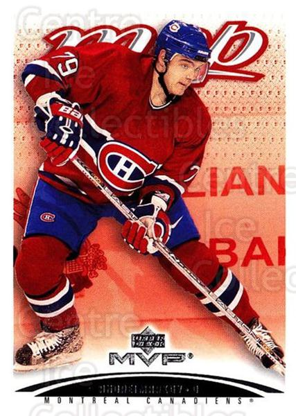 2003-04 Upper Deck MVP #225 Andrei Markov<br/>2 In Stock - $1.00 each - <a href=https://centericecollectibles.foxycart.com/cart?name=2003-04%20Upper%20Deck%20MVP%20%23225%20Andrei%20Markov...&quantity_max=2&price=$1.00&code=120671 class=foxycart> Buy it now! </a>
