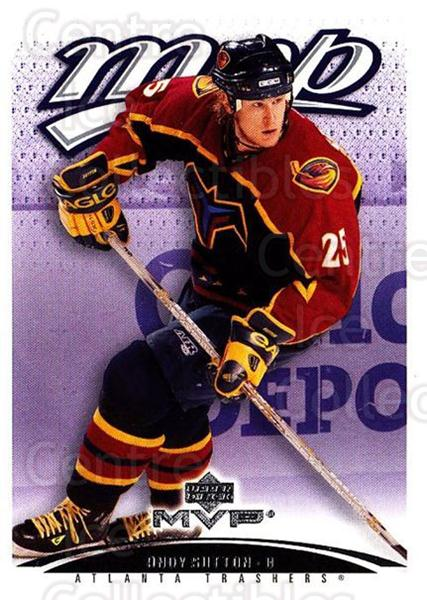 2003-04 Upper Deck MVP #23 Andy Sutton<br/>3 In Stock - $1.00 each - <a href=https://centericecollectibles.foxycart.com/cart?name=2003-04%20Upper%20Deck%20MVP%20%2323%20Andy%20Sutton...&quantity_max=3&price=$1.00&code=120676 class=foxycart> Buy it now! </a>