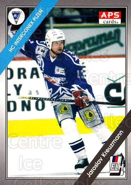 1994-95 Czech APS Extraliga #160 Jaroslav Kreuzmann<br/>8 In Stock - $2.00 each - <a href=https://centericecollectibles.foxycart.com/cart?name=1994-95%20Czech%20APS%20Extraliga%20%23160%20Jaroslav%20Kreuzm...&quantity_max=8&price=$2.00&code=1207 class=foxycart> Buy it now! </a>