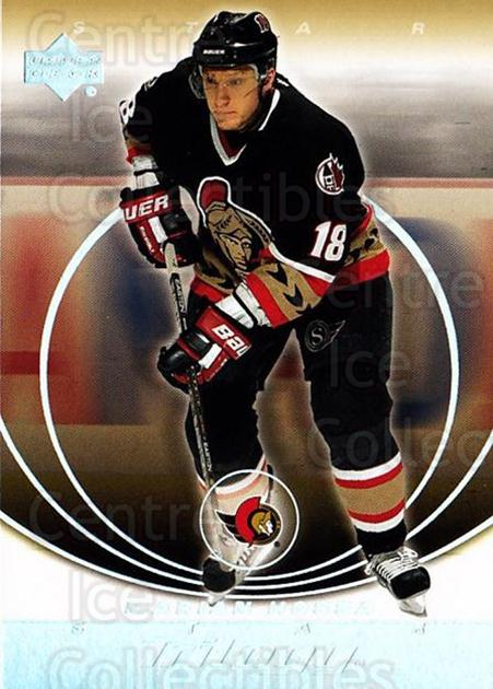 2003-04 UD Trilogy #66 Marian Hossa<br/>3 In Stock - $1.00 each - <a href=https://centericecollectibles.foxycart.com/cart?name=2003-04%20UD%20Trilogy%20%2366%20Marian%20Hossa...&quantity_max=3&price=$1.00&code=120885 class=foxycart> Buy it now! </a>