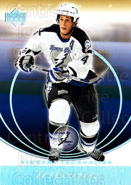 2003-04 UD Trilogy #87 Vincent Lecavalier<br/>4 In Stock - $1.00 each - <a href=https://centericecollectibles.foxycart.com/cart?name=2003-04%20UD%20Trilogy%20%2387%20Vincent%20Lecaval...&quantity_max=4&price=$1.00&code=120906 class=foxycart> Buy it now! </a>