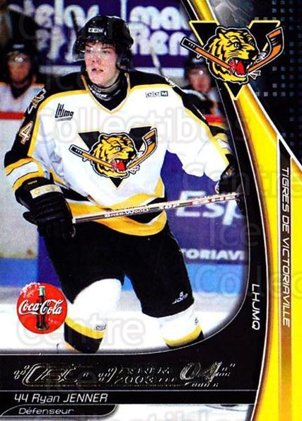 2003-04 Victoriaville Tigres #13 Ryan Jenner<br/>2 In Stock - $3.00 each - <a href=https://centericecollectibles.foxycart.com/cart?name=2003-04%20Victoriaville%20Tigres%20%2313%20Ryan%20Jenner...&quantity_max=2&price=$3.00&code=121180 class=foxycart> Buy it now! </a>