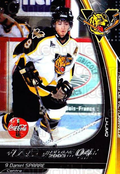 2003-04 Victoriaville Tigres #24 Daniel Sparre<br/>1 In Stock - $3.00 each - <a href=https://centericecollectibles.foxycart.com/cart?name=2003-04%20Victoriaville%20Tigres%20%2324%20Daniel%20Sparre...&quantity_max=1&price=$3.00&code=121187 class=foxycart> Buy it now! </a>