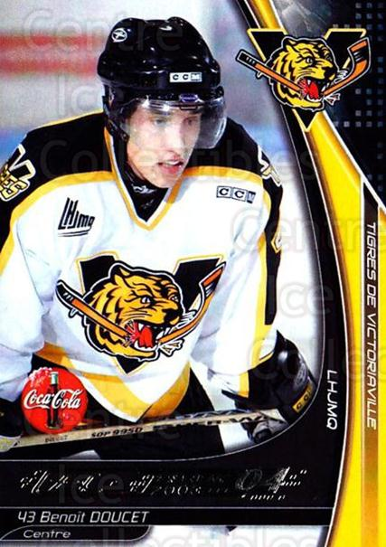 2003-04 Victoriaville Tigres #6 Benoit Doucet<br/>1 In Stock - $3.00 each - <a href=https://centericecollectibles.foxycart.com/cart?name=2003-04%20Victoriaville%20Tigres%20%236%20Benoit%20Doucet...&quantity_max=1&price=$3.00&code=121193 class=foxycart> Buy it now! </a>