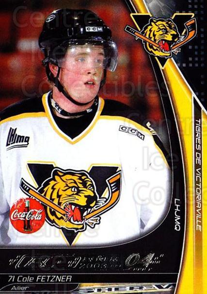 2003-04 Victoriaville Tigres #9 Cole Fetzner<br/>2 In Stock - $3.00 each - <a href=https://centericecollectibles.foxycart.com/cart?name=2003-04%20Victoriaville%20Tigres%20%239%20Cole%20Fetzner...&quantity_max=2&price=$3.00&code=121195 class=foxycart> Buy it now! </a>