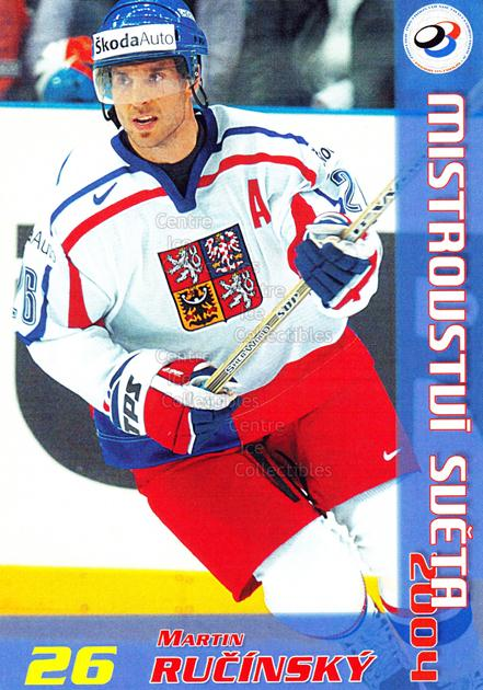 2004-05 Czech World Championship Postcards #17 Martin Rucinsky<br/>1 In Stock - $3.00 each - <a href=https://centericecollectibles.foxycart.com/cart?name=2004-05%20Czech%20World%20Championship%20Postcards%20%2317%20Martin%20Rucinsky...&quantity_max=1&price=$3.00&code=121276 class=foxycart> Buy it now! </a>