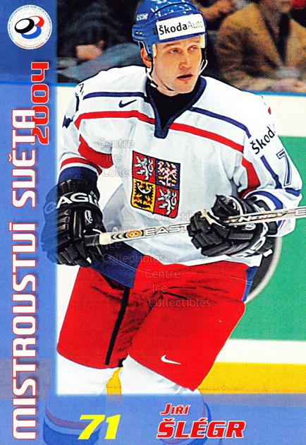 2004-05 Czech World Championship Postcards #20 Jiri Slegr<br/>1 In Stock - $3.00 each - <a href=https://centericecollectibles.foxycart.com/cart?name=2004-05%20Czech%20World%20Championship%20Postcards%20%2320%20Jiri%20Slegr...&quantity_max=1&price=$3.00&code=121277 class=foxycart> Buy it now! </a>