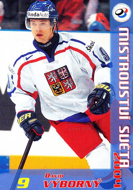 2004-05 Czech World Championship Postcards #25 David Vyborny<br/>1 In Stock - $3.00 each - <a href=https://centericecollectibles.foxycart.com/cart?name=2004-05%20Czech%20World%20Championship%20Postcards%20%2325%20David%20Vyborny...&quantity_max=1&price=$3.00&code=121279 class=foxycart> Buy it now! </a>