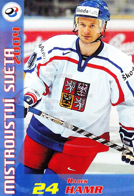 2004-05 Czech World Championship Postcards #6 Radek Hamr<br/>1 In Stock - $3.00 each - <a href=https://centericecollectibles.foxycart.com/cart?name=2004-05%20Czech%20World%20Championship%20Postcards%20%236%20Radek%20Hamr...&quantity_max=1&price=$3.00&code=121280 class=foxycart> Buy it now! </a>