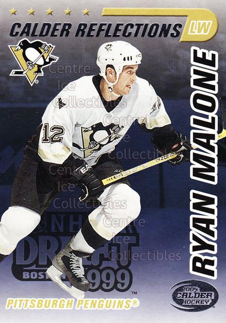 2004 Pacific Calder Reflections Entry Draft Redemption #8 Ryan Malone<br/>6 In Stock - $3.00 each - <a href=https://centericecollectibles.foxycart.com/cart?name=2004%20Pacific%20Calder%20Reflections%20Entry%20Draft%20Redemption%20%238%20Ryan%20Malone...&quantity_max=6&price=$3.00&code=121319 class=foxycart> Buy it now! </a>