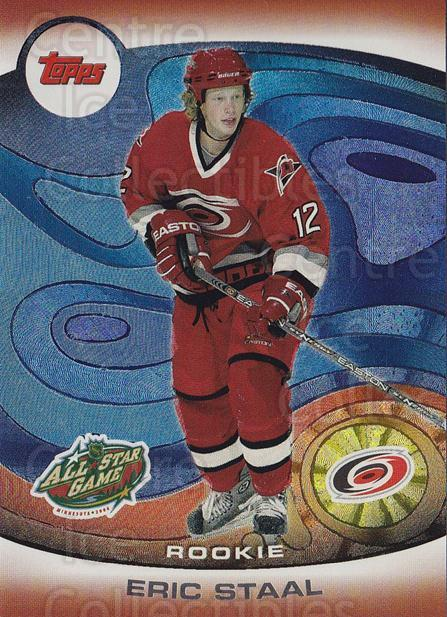 2004 Topps AS Fantasy Redemption #5 Eric Staal<br/>1 In Stock - $5.00 each - <a href=https://centericecollectibles.foxycart.com/cart?name=2004%20Topps%20AS%20Fantasy%20Redemption%20%235%20Eric%20Staal...&quantity_max=1&price=$5.00&code=121408 class=foxycart> Buy it now! </a>