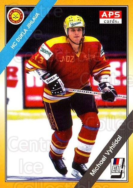 1994-95 Czech APS Extraliga #169 Michael Vyhlidal<br/>8 In Stock - $2.00 each - <a href=https://centericecollectibles.foxycart.com/cart?name=1994-95%20Czech%20APS%20Extraliga%20%23169%20Michael%20Vyhlida...&quantity_max=8&price=$2.00&code=1214 class=foxycart> Buy it now! </a>