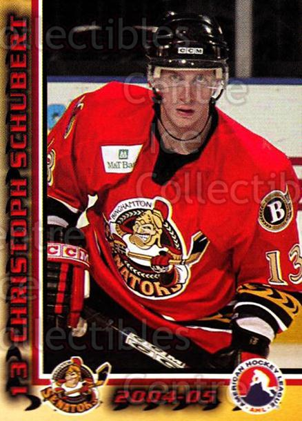 2004-05 Binghamton Senators #16 Christoph Schubert<br/>5 In Stock - $3.00 each - <a href=https://centericecollectibles.foxycart.com/cart?name=2004-05%20Binghamton%20Senators%20%2316%20Christoph%20Schub...&quantity_max=5&price=$3.00&code=121522 class=foxycart> Buy it now! </a>
