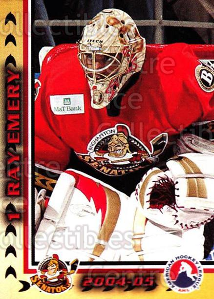 2004-05 Binghamton Senators #3 Ray Emery<br/>2 In Stock - $3.00 each - <a href=https://centericecollectibles.foxycart.com/cart?name=2004-05%20Binghamton%20Senators%20%233%20Ray%20Emery...&quantity_max=2&price=$3.00&code=121533 class=foxycart> Buy it now! </a>