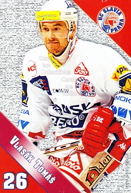 2004-05 Czech HC Slavia Praha Postcards #14 Tomas Vlasak<br/>3 In Stock - $3.00 each - <a href=https://centericecollectibles.foxycart.com/cart?name=2004-05%20Czech%20HC%20Slavia%20Praha%20Postcards%20%2314%20Tomas%20Vlasak...&price=$3.00&code=121577 class=foxycart> Buy it now! </a>
